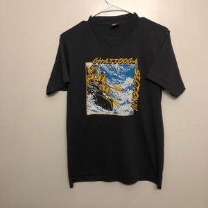 Screen stars Chattooga section rafting tee vtg